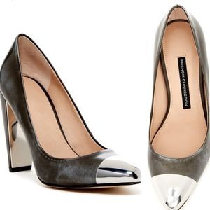 French Connection Jolynn Metal Toe Pump